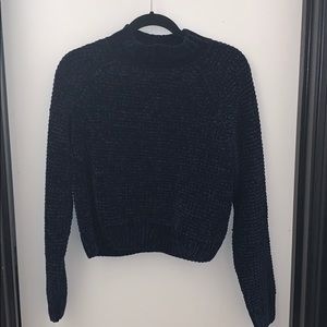 H&M Divided Waffle Navy Sweater